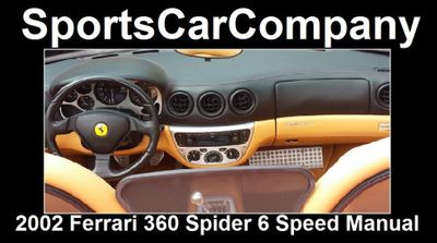 2002 Ferrari 360 2dr Convertible Spider - Click to see full-size photo viewer