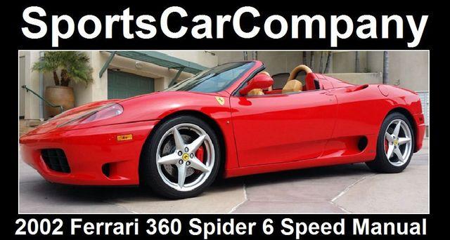 2002 Ferrari 360 2dr Convertible Spider - 16459870 - 13
