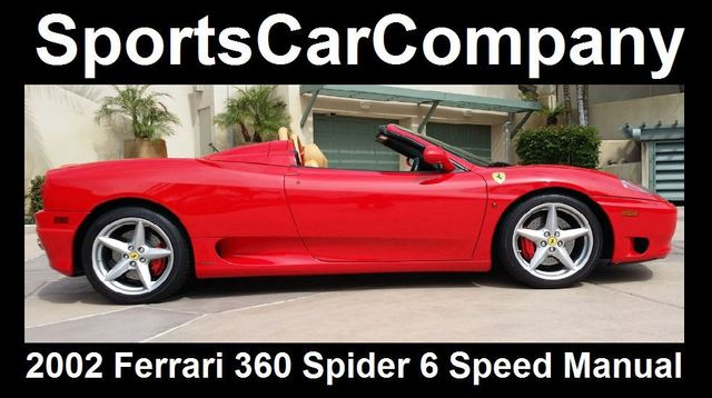 2002 Ferrari 360 2dr Convertible Spider - 16459870 - 17