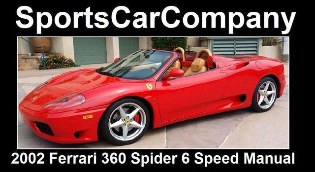 2002 Ferrari 360 2dr Convertible Spider - 16459870 - 2