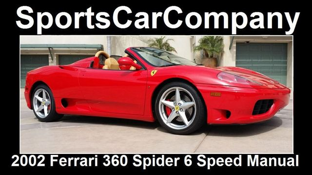 2002 Ferrari 360 2dr Convertible Spider - 16459870 - 4