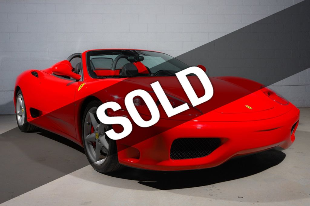 2002 Ferrari 360 **CHALLENGE GRILLE**LOW MILES** - 18596630 - 0