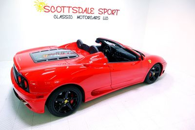 2002 Ferrari 360 F1 SPIDER * ONLY 9K Miles...Spider - Click to see full-size photo viewer