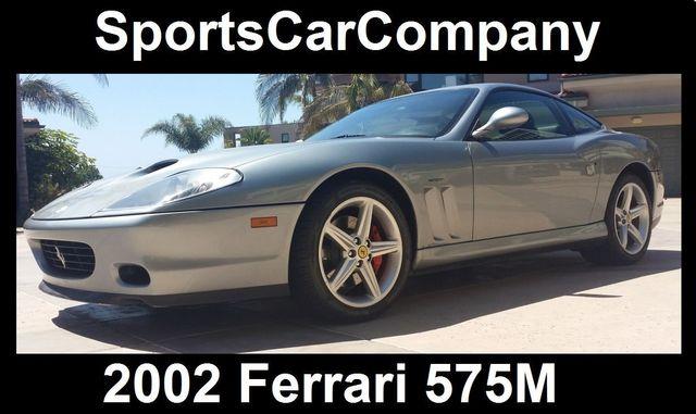 2002 Ferrari 575M Maranello 2dr Coupe F1