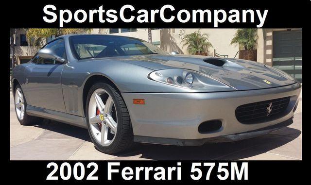 2002 Ferrari 575M Maranello 2dr Coupe F1 - 16518098 - 1