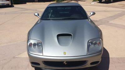2002 Ferrari 575M Maranello 2dr Coupe F1 - Click to see full-size photo viewer