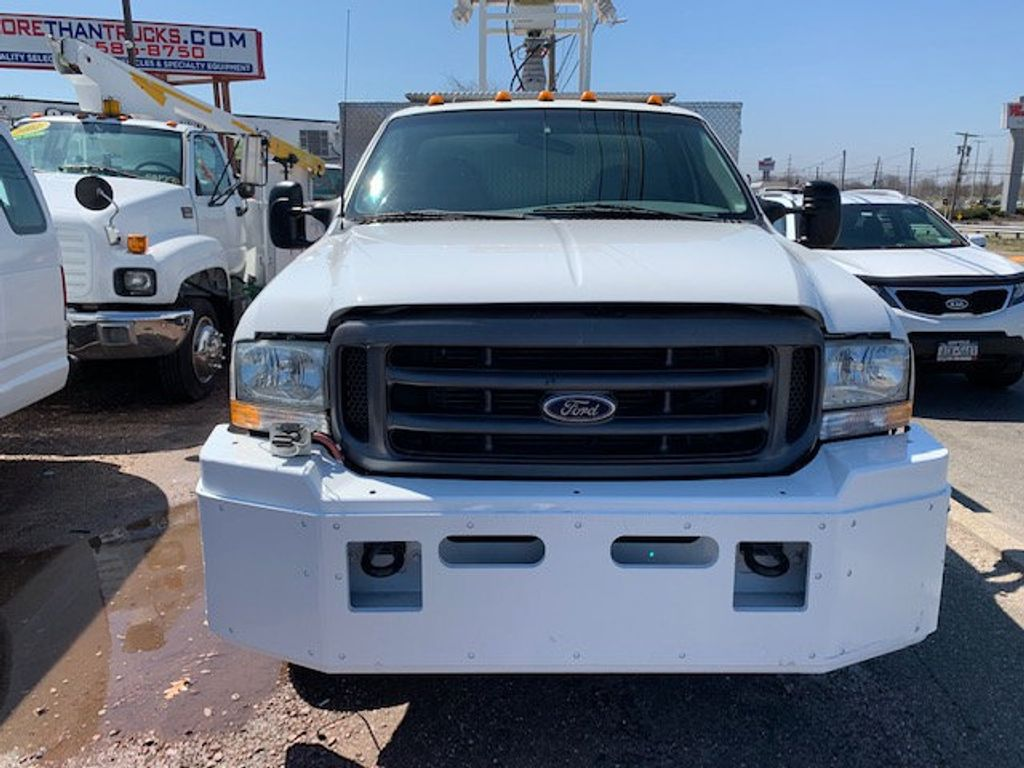 2002 Ford F550 Utility Truck with Telescopic Mast & Gen Set 4x4  Telescopic Boom with Flood Lighting & Generator - 18414795 - 5