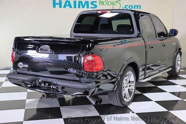 "Ford Dealership Fort Lauderdale >> 2002 Used Ford F-150 SuperCrew 139"" Harley Davidson at Haims Motors Serving Fort Lauderdale ..."