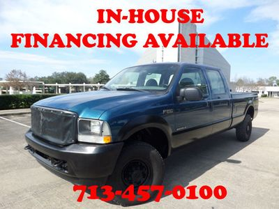 "2002 Ford Super Duty F-250 7.3L Crew Cab 172"" XL 4WD Truck"