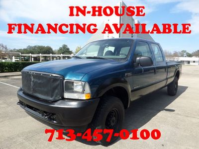 """2002 Ford Super Duty F-250 7.3L Crew Cab 172"""" XL 4WD - Click to see full-size photo viewer"""