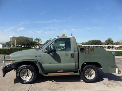 2002 Ford Super Duty F-350 AIRCRAFT PUSHBACK TRACTOR - Click to see full-size photo viewer