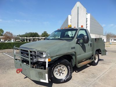 2002 Ford Super Duty F-350 AIRCRAFT PUSHBACK TRACTOR 7.3L Diesel Truck