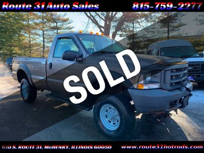 "2002 Ford Super Duty F-350 SRW Reg Cab 137"" XL 4WD Truck"