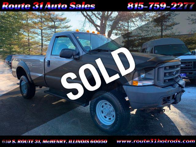 "2002 Ford Super Duty F-350 SRW Reg Cab 137"" XL 4WD"