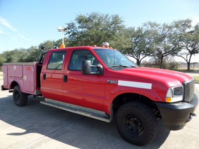 "2002 Ford Super Duty F-350 SRW Cab-Chassis Crew Cab 176"" WB 60"" CA XLT 4WD - Click to see full-size photo viewer"
