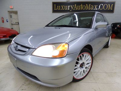 2002 Honda Civic 2dr Coupe EX Automatic w/Side Airbags