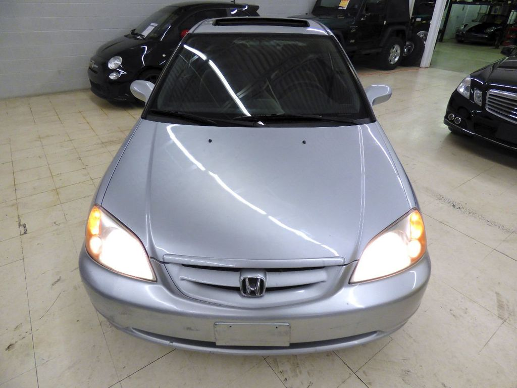 2002 Honda Civic 2dr Coupe EX Automatic w/Side Airbags Coupe - 1HGEM22022L012673 - 9