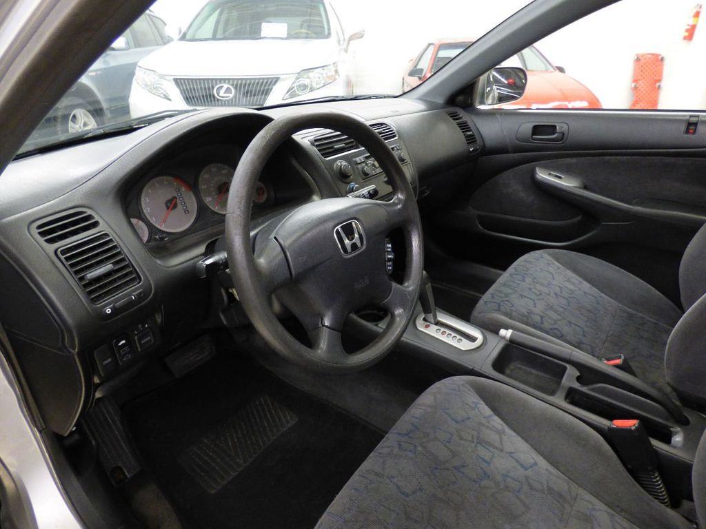 2002 Honda Civic 2dr Coupe EX Automatic w/Side Airbags Coupe - 1HGEM22022L012673 - 22