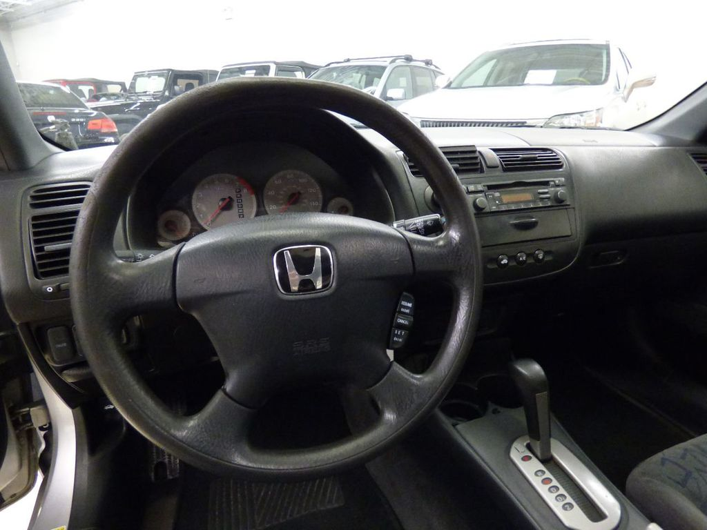 2002 Honda Civic 2dr Coupe EX Automatic w/Side Airbags Coupe - 1HGEM22022L012673 - 23
