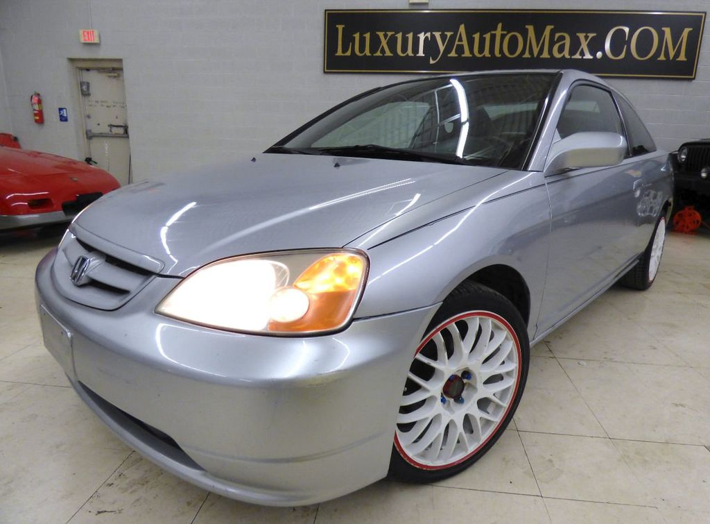 2002 Honda Civic 2dr Coupe EX Automatic w/Side Airbags Coupe - 1HGEM22022L012673 - 5