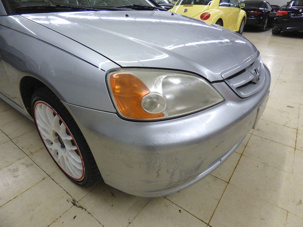 2002 Honda Civic 2dr Coupe EX Automatic w/Side Airbags Coupe - 1HGEM22022L012673 - 62