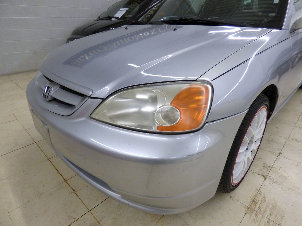 2002 Honda Civic 2dr Coupe EX Automatic w/Side Airbags Coupe - 1HGEM22022L012673 - 63