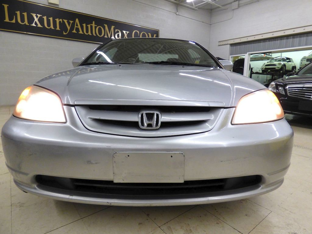 2002 Honda Civic 2dr Coupe EX Automatic w/Side Airbags Coupe - 1HGEM22022L012673 - 7
