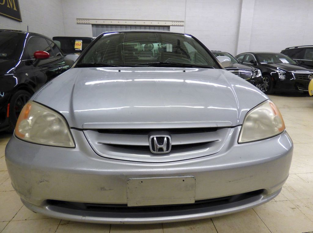 2002 Honda Civic 2dr Coupe EX Automatic w/Side Airbags Coupe - 1HGEM22022L012673 - 8