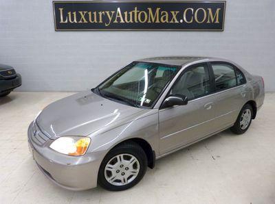2002 Honda Civic 4dr Sedan LX Automatic