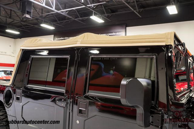 2002 HUMMER H1 4-Passenger Open Top Hard Doors - Click to see full-size photo viewer