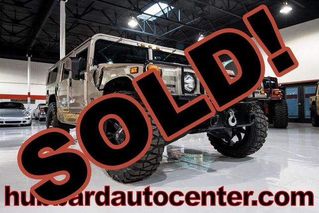 2002 HUMMER H1 4-Passenger Wagon Enclosed