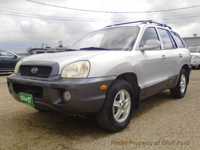 Santa Fe Ford >> 2002 Used Hyundai Santa Fe At Gloff Ford Serving Clifton Tx Iid 15827261