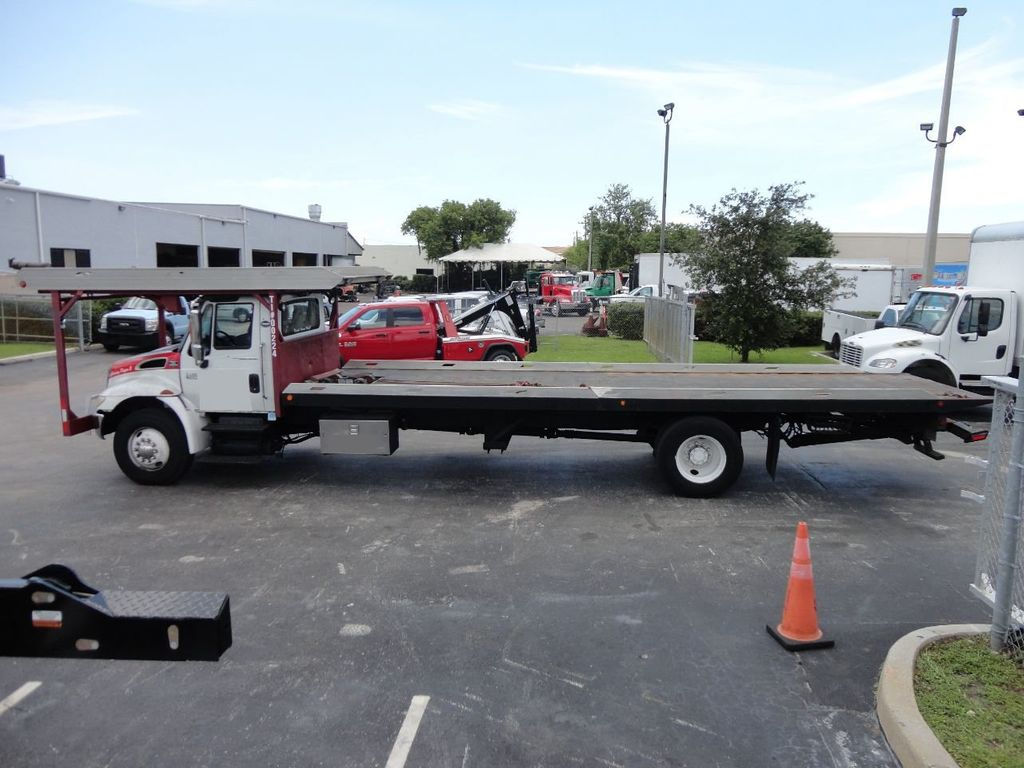 2002 International 4400 4 CAR CARRIER ROLLBACK 28FT JERRDAN - 17821067 - 5