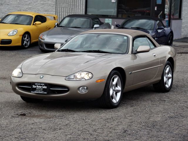 2002 Jaguar XK8 2dr Convertible XK8 - Click to see full-size photo viewer