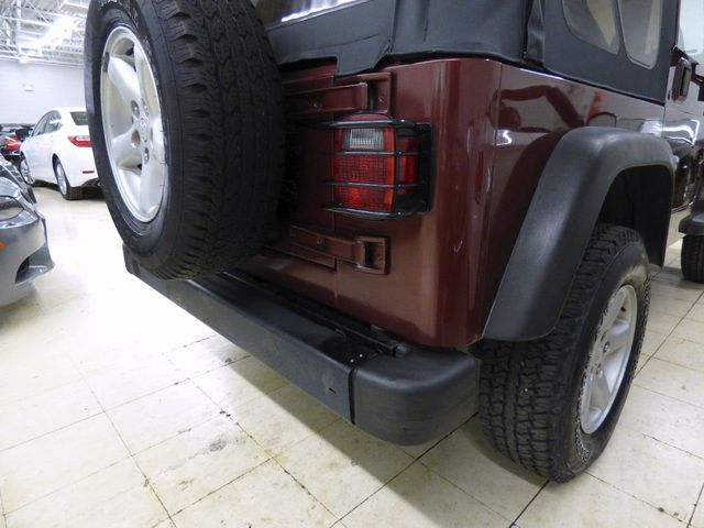 2002 Jeep Wrangler 2dr X - Click to see full-size photo viewer