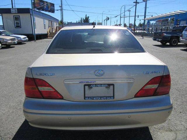 Marvelous 2002 Lexus LS 430 4dr Sedan Sedan   JTHBN30F020070633   3