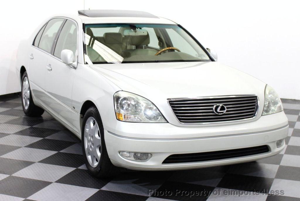 2002 used lexus ls 430 ls430 v8 luxury sedan navigation at. Black Bedroom Furniture Sets. Home Design Ideas