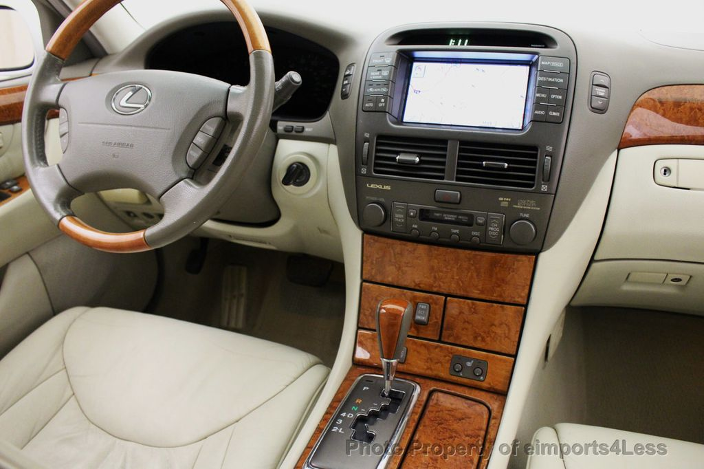 2002 used lexus ls 430 ls430 v8 luxury sedan navigation at