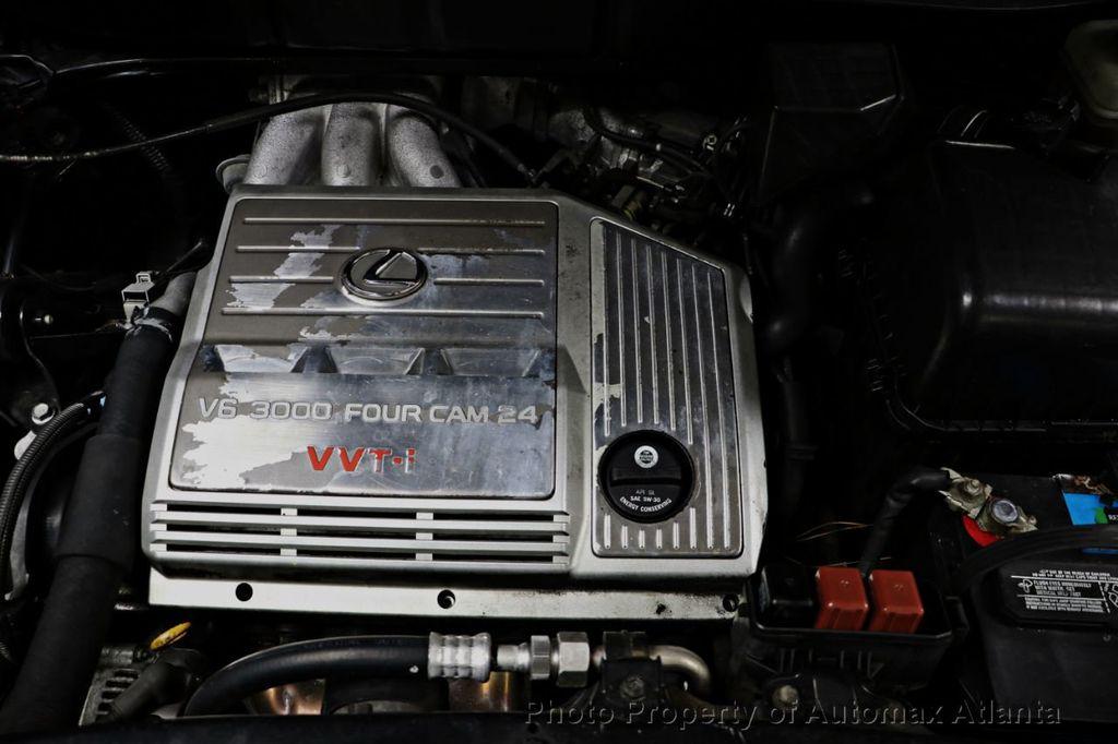 2002 lexus rx330 fuel economy