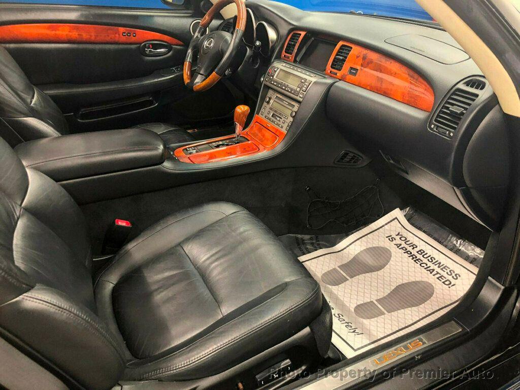 2002 Lexus SC 430 2dr Convertible - 18031512 - 9