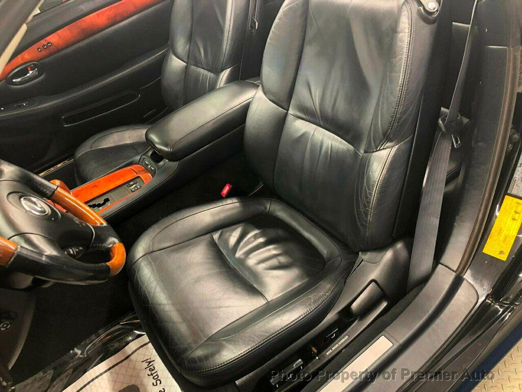 2002 Lexus SC 430 2dr Convertible - 18031512 - 10