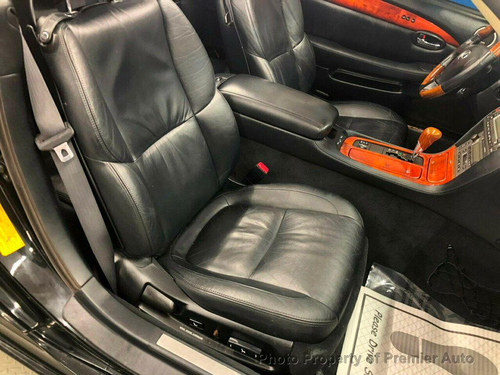 2002 Lexus SC 430 2dr Convertible - 18031512 - 11
