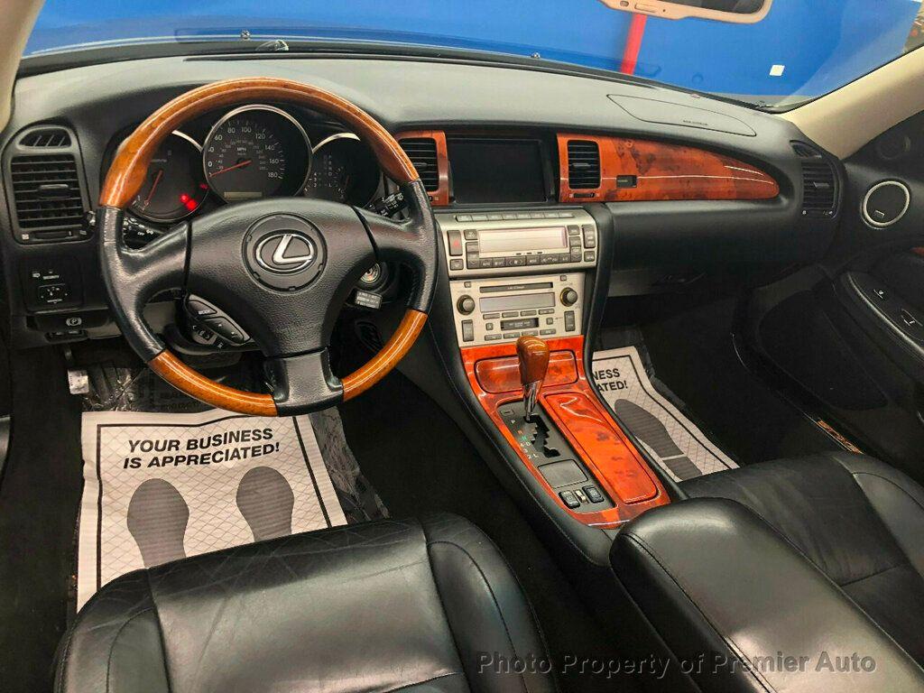 2002 Lexus SC 430 2dr Convertible - 18031512 - 14