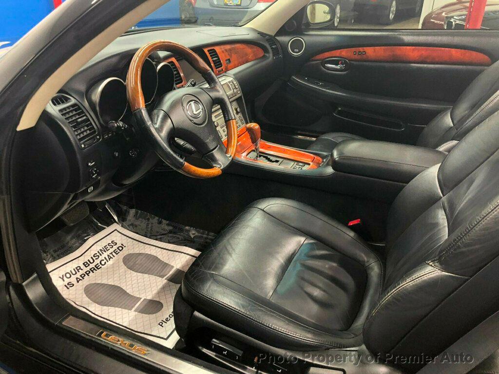 2002 Lexus SC 430 2dr Convertible - 18031512 - 8