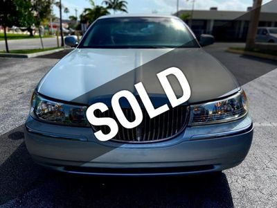 Used Lincoln Town Car At Team Auto Serving Hollywood Fl