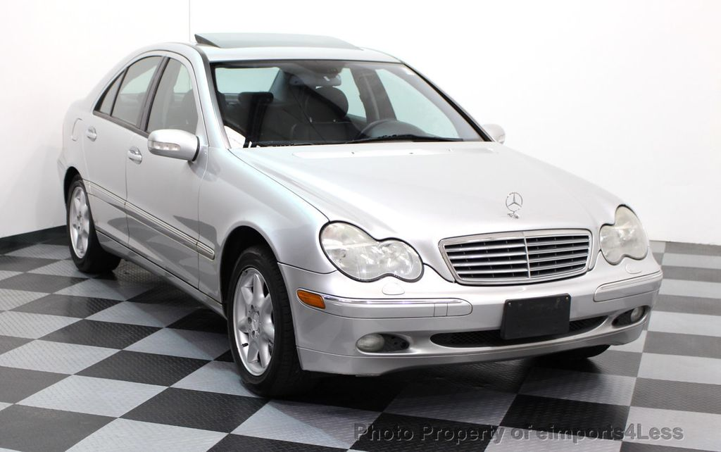 2002 used mercedes benz c class c240 4dr sedan 2 6l at