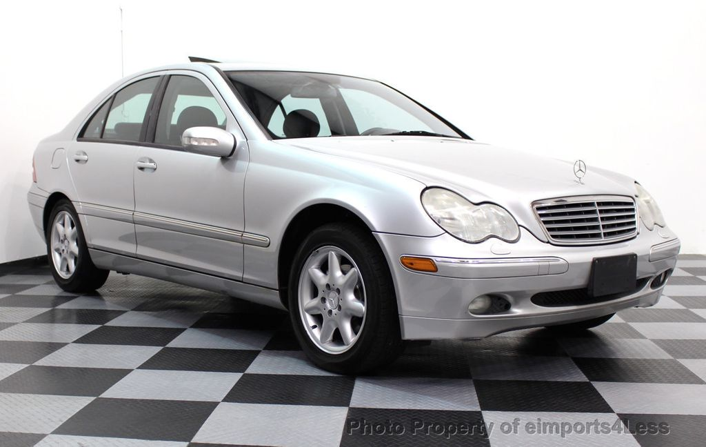 2002 used mercedes benz c class c240 4dr sedan 2 6l at eimports4less serving doylestown bucks. Black Bedroom Furniture Sets. Home Design Ideas