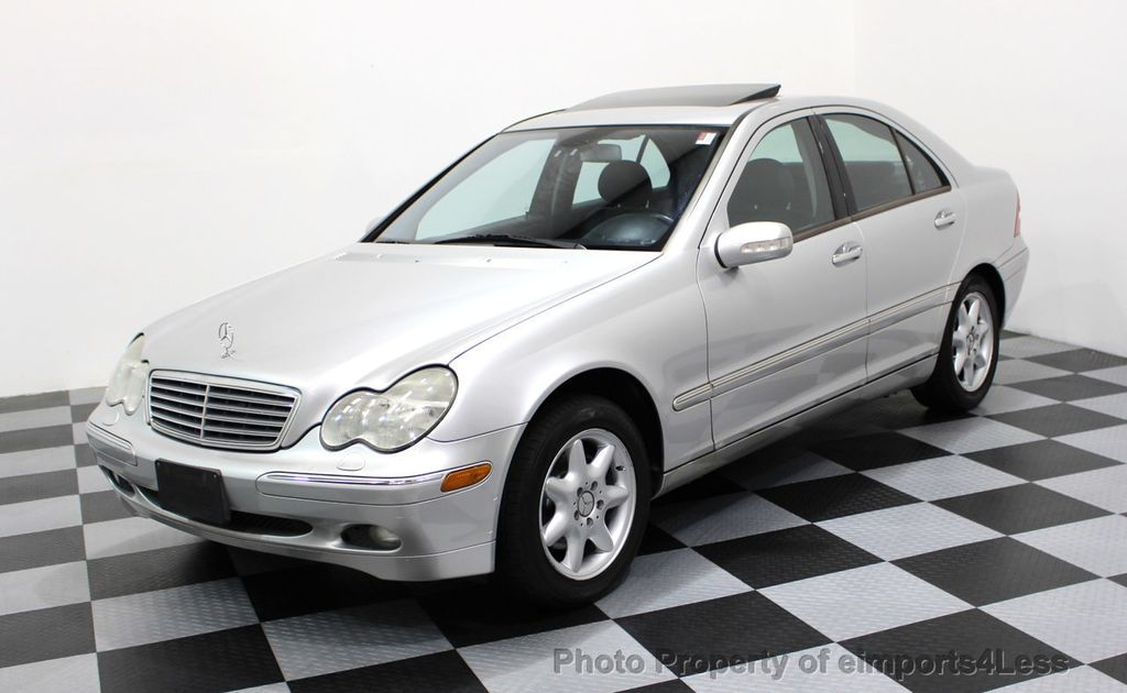 2002 used mercedes benz c class c240 4dr sedan 2 6l at for Mercedes benz used c class