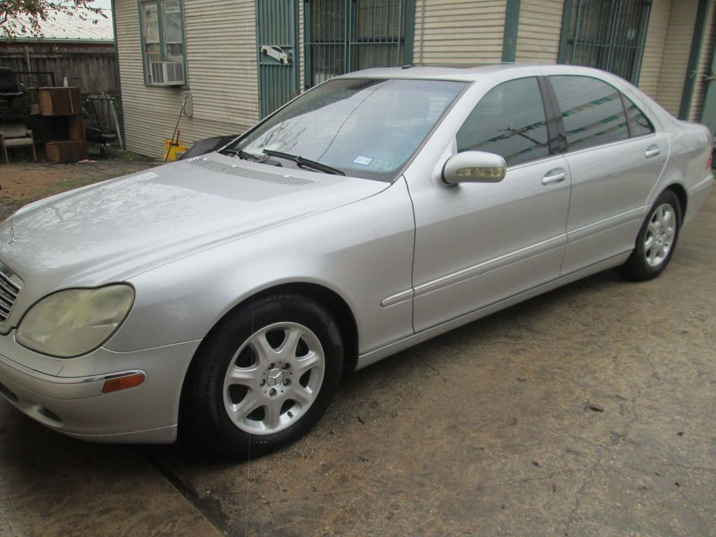 2002 Mercedes-Benz S-Class S430 4dr Sedan 4.3L - 14496611 - 0