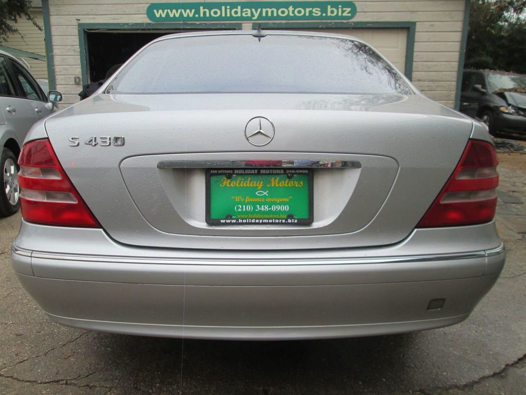 2002 Mercedes-Benz S-Class S430 4dr Sedan 4.3L - 14496611 - 5